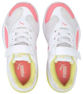 Calzado Casual Junior - Puma 90s Runner Mesh AC PS blanco Lifestyle
