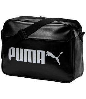 Puma Bolso Campus Reporter Retro Negro Puma Bolsas pequeñas Bolsas Mochilas Color: negro