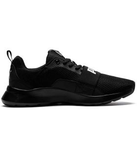 Puma Filaire Jr Noir Puma Chaussure de mode de Vie Décontracté Junior Tailles: 36, 37, 38, 39; Couleur: noir
