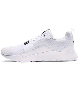 Puma Wired Blanco Puma Calzado Casual Hombre Lifestyle Tallas: 40, 41, 42, 43, 44, 45, 46, 47; Color: blanco