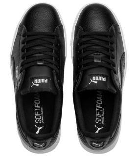 Puma Vikky Empilés Noir Puma Chaussures de Femmes de mode de Vie Décontracté Tailles: 38, 39, 40,5, 41; Couleur: noir