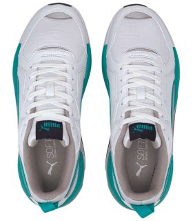 Puma Mercedes X-Ray Blanc Chaussures Puma Casual Homme Lifestyle Tailles: 41, 42, 42,5, 43, 44, 44,5; Couleur: blanc