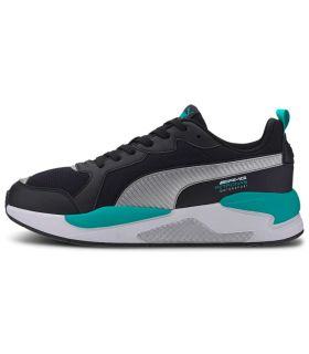 Puma Mercedes X-Ray Black Puma Shoes Casual Man Lifestyle Sizes: 41, 42, 42,5, 43, 44, 45; Color: black