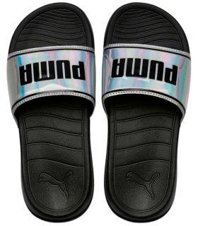 Puma Popcat 20 Iri Wns Puma Gris Boutique Sandales / tongs Femmes Sandales / tongs Taille: 42; Couleur: gris