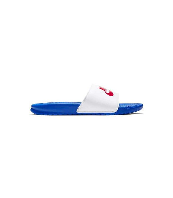 Tienda Sandalias / Chancletas Hombre - Nike Benassi JDI azul Sandalias / Chancletas