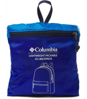 Columbia Mochila Lightweight Packable Azul Columbia Mochilas - Bolsas Running Color: azul