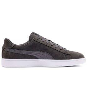 Puma Smash v2 Grey Puma Shoes Casual Man Lifestyle Sizes: 39, 40, 41, 42, 42,5, 43, 44, 44,5, 45, 46, 47; Color: