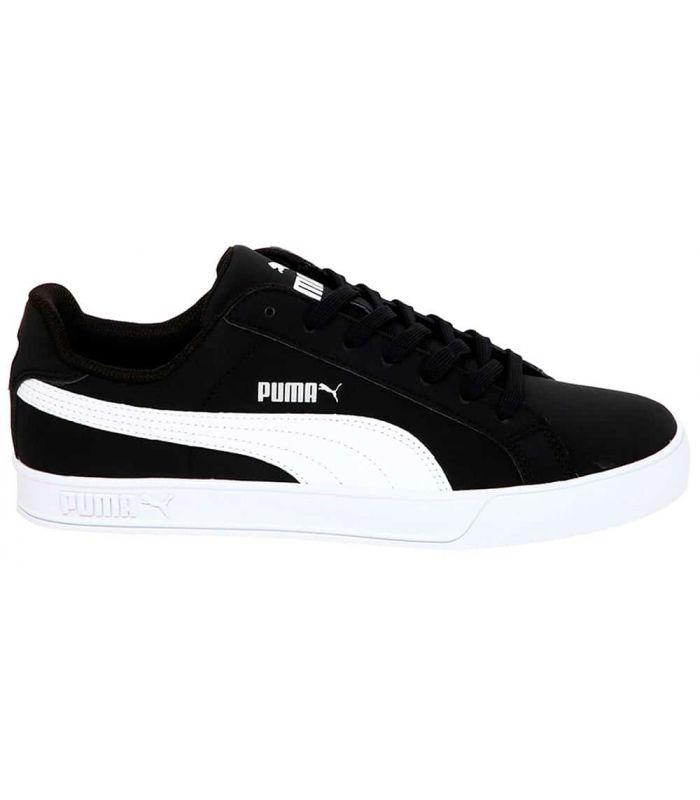 Puma Smash Vulc Negro - Calzado Casual Hombre