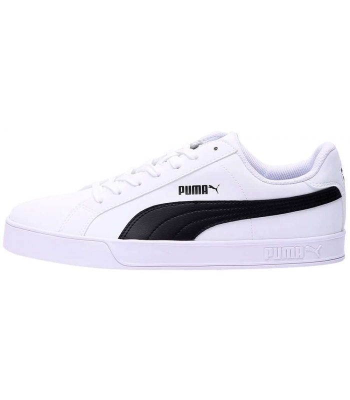 Puma Smash Vulc White - Casual Footwear Man