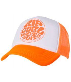 Gorros-Visors Running-Rip Curl Cap Wettie Truck Orange Orange Textile Running