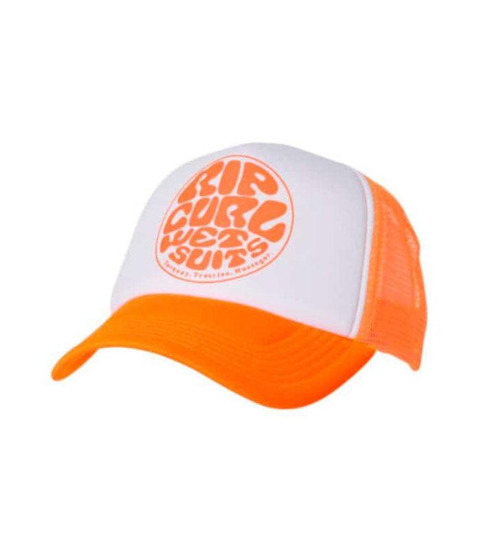 Gorros - Viseras Running - Rip Curl Gorra Wettie Trucka Naranja naranja Textil Running