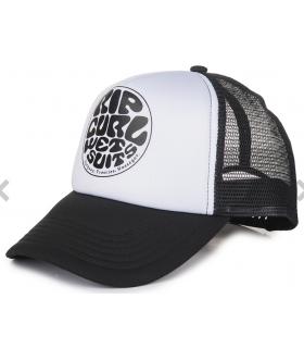 Rip Curl Gorra Wettie Trucka Negro Rip Curl Gorros - Viseras Running Textil Running Color: negro