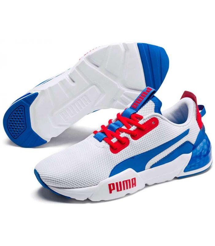 Puma Cell Phase Blanco Puma Calzado Casual Hombre Lifestyle Tallas: 41, 42, 43, 44, 45; Color: blanco