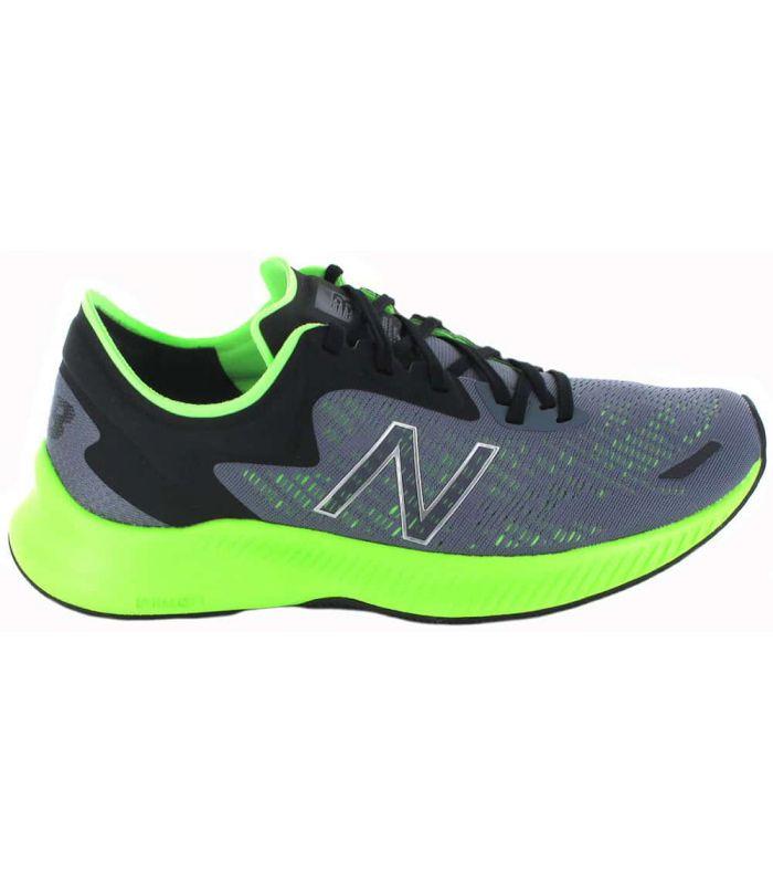 Zapatillas Running Man-New Balance MPESULL1 gris Zapatillas Running