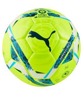 Balones Fútbol - Puma Balon LaLiga Adrenalina amarillo Fútbol