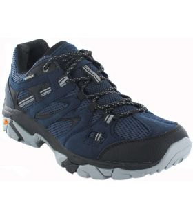 Trekking Man-Hi-Tec Ravus Vent Lite Low WP Blue Marine Calzado Montana sneakers
