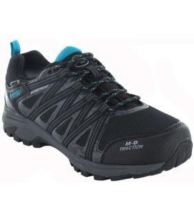 Trekking Man Sneakers-Hi-Tec Menhir black WP Calzado Montana