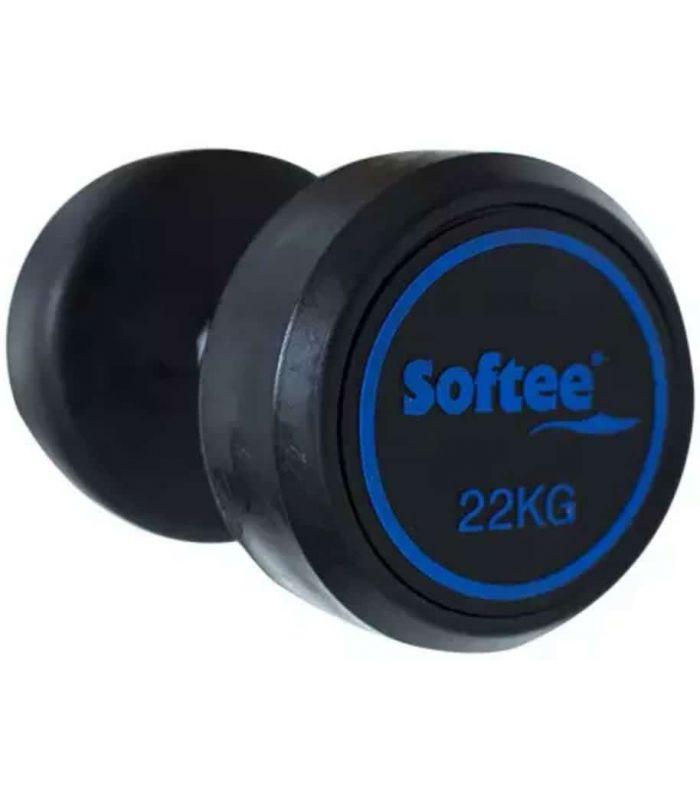 Pesas - Tobilleras Lastradas - Softee Mancuerna Modern 6 Kg negro Fitness