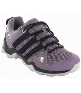 Trekking Boy Sneakers-Adidas Terrex AX2R Hiking Purple purple Footwear Montana