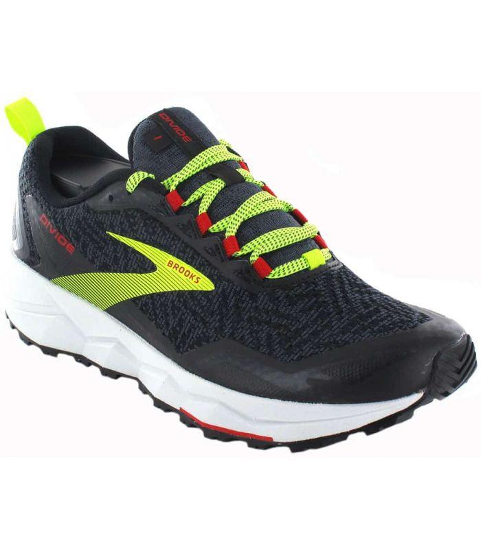 Brooks Divide Black - Trail Running Man Sneakers