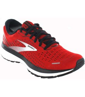 Running Man Sneakers-Brooks Ghost 13 Red Red Sneakers Running