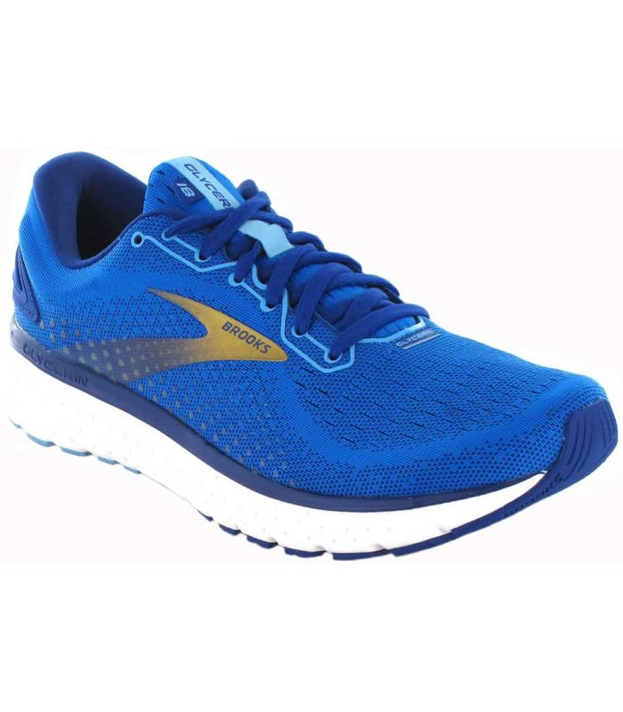 Brooks Glycerin 18 Blue - Mens Running Shoes