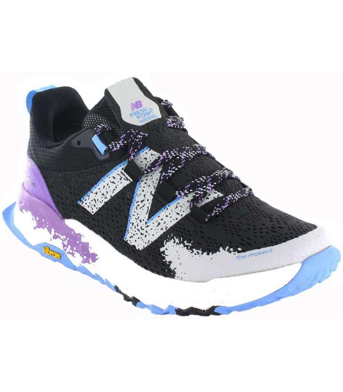 Zapatillas Trail Running Mujer - New Balance Fresh Foam Hierro V5 W negro Zapatillas Trail Running