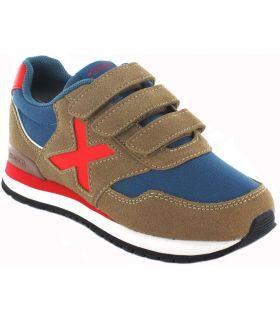Munich Dash Kid Velcro 47 Munich Calzado Casual Junior Lifestyle Tallas: 26, 27, 28, 29, 31; Color: marron
