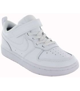 Chaussures Casual Junior-Nike Court Borough Low 2 Jr blanc Lifestyle