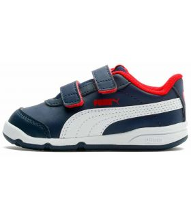 Puma Stepfleex 2 SL Marino Puma Calzado Casual Junior Lifestyle Tallas: 25, 26, 27, 22, 23, 24; Color: azul marino