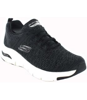 Skechers Arch Fit W Negro Skechers Calzado Casual Mujer Lifestyle Tallas: 37, 38, 39, 41, 36; Color: negro