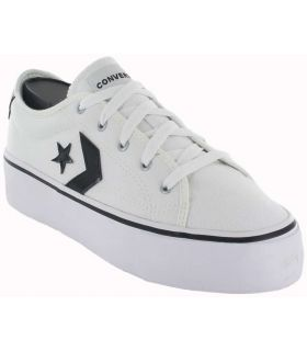 Converse Star Replay Platform Blanco Converse Calzado Casual Mujer Lifestyle Tallas: 36, 39, 40; Color: blanco
