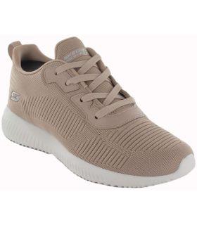 Skechers Tough Talk Beige - Casual Footwear Woman