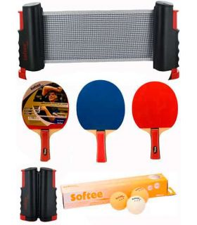 Super Set Ping Pong Noir / Orange