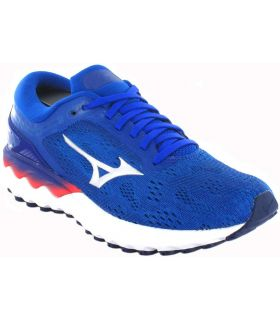 Zapatillas Running Mujer - Mizuno Wave Skyrise W 955 azul Zapatillas Running