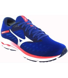 Zapatillas Running Hombre - Mizuno Wave Rider 24 Azul azul Zapatillas Running