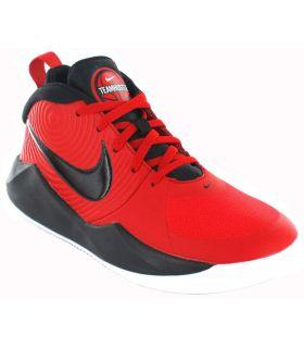 Nike Team Hustle D 9 Nike Sneakers Basketball Footwear Sizes: 36, 36.5, 37.5, 38, 39; Color: red