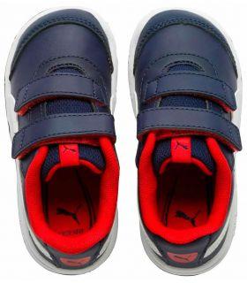 Calzado Casual Junior - Puma Stepfleex 2 SL VE V Marino azul Lifestyle