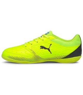 Botas multi tacos - Puma Truco Jr 02 amarillo Fútbol