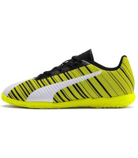 Calzado Futbol sala Junior - Puma One 5.4 IT Jr amarillo Calzado Futbol / Futbol sala