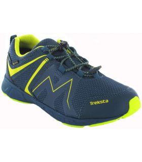 Zapatillas Trekking Niño - Treksta Speed Low Azul Gore-Tex azul marino Calzado Montaña