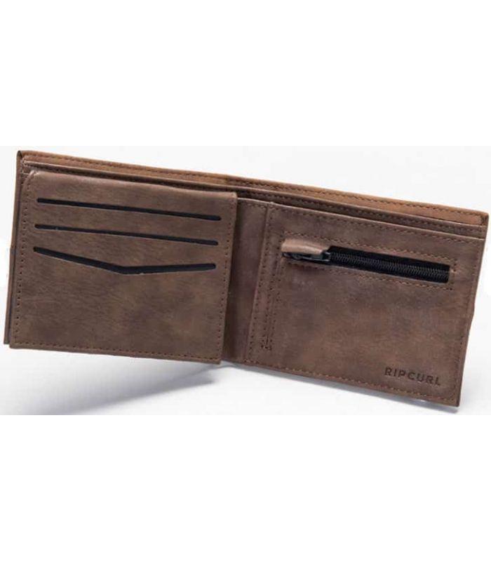 Rip Curl Portfolio Archer RFID PU All Day Wallet Brown -