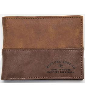 Rip Curl Portfolio Archer RFID PU All Day Wallet Brown