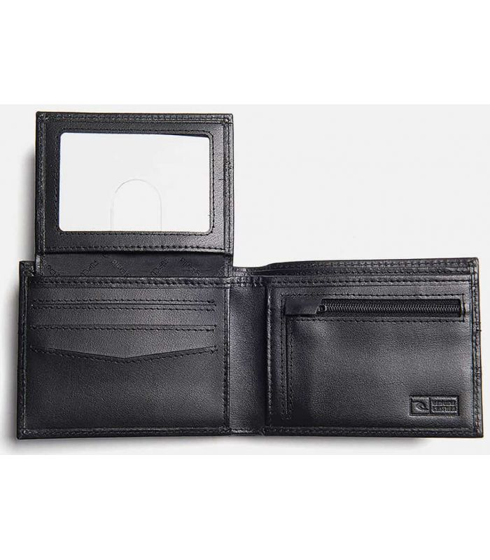Carteras - Rip Curl Cartera Flux Clip RFID All Day negro Lifestyle