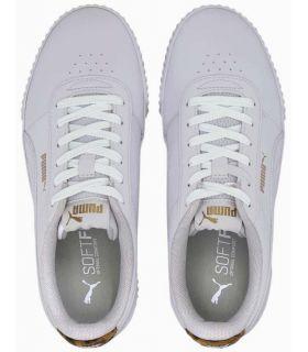 Calzado Casual Mujer - Puma Carina Leo blanco Lifestyle