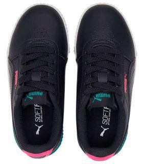 Calzado Casual Junior - Puma Carina Vivid Ps 02 negro Lifestyle