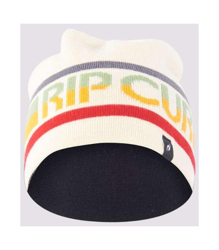 Rip Curl Gorro Revo Skull Beige
