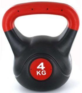 Kettlebell PVC 4 Kg - Pesas - Tobilleras lastradas