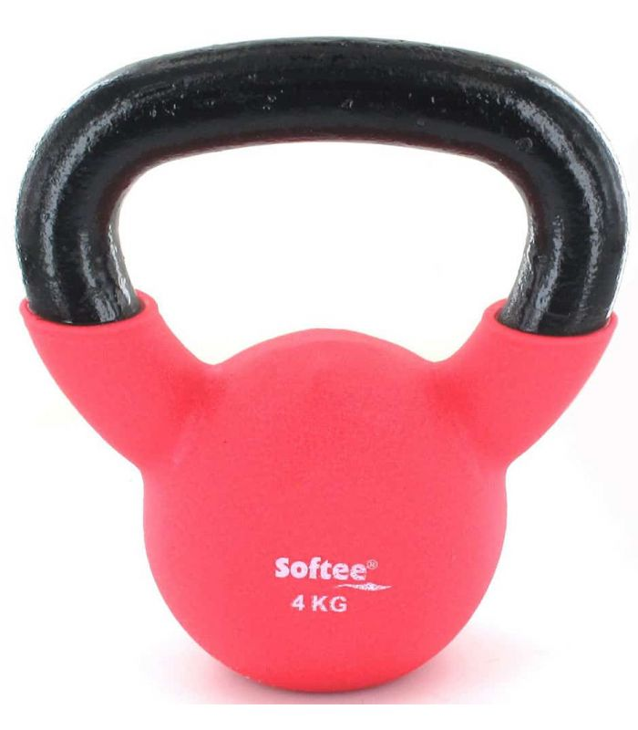 Kettlebell Neoprene 4 Kg - Kettlebell-Russian Weights