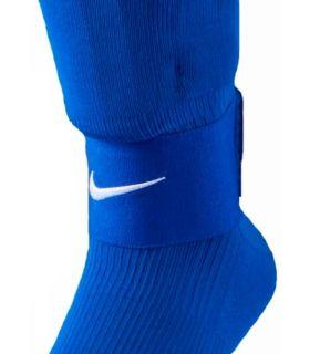 Espinilleras - Nike sujeta espinilleras Nike Guard Stay II 498 azul Fútbol
